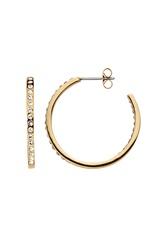 Dyrberg/Kern Quinnie Crystal Earrings Gold