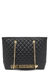 Love Moschino Bag With Chain 00B Black/Gold