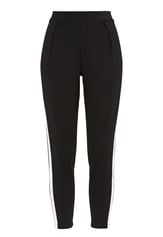 77thFLEA Helsinki Trousers Black / White