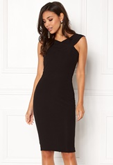 AX Paris Midi Dress Cross Front Black