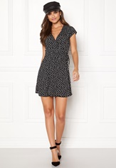 BUBBLEROOM Caylee dress Black / White / Dotted