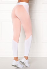 Light pink / White