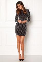 Chiara Forthi Kissed by the stars Dress Black / Silver