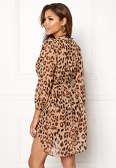 Chiara Forthi Spiaggia Shirt Dress Leopard