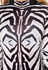 Chiara Forthi Zebu Top Black / White