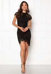 Girl In Mind Francis Lace Dress Black