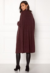 Jacqueline de Yong Justy L/S Pullover Light Grey Melange
