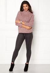 OBJECT Patricia Knit Pullover Withered Rose