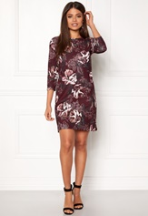 Sisters Point Gexi-22 Tunic Rubywine/flower