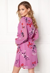 VERO MODA Hallie Frill Short Dress Opera Mauve