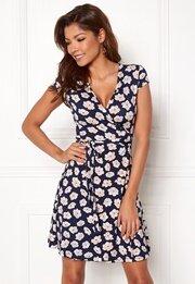 Chiara Forthi Sonnet Mini Wrap Dress s/s