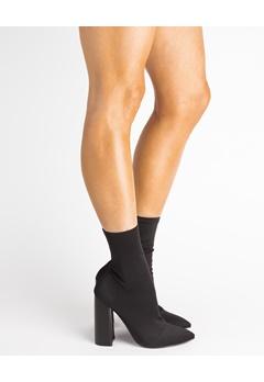 Bebo Sock Boot, Charlie Sort Bubbleroom.dk