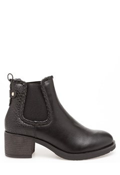 Glossy Boots, Britt Svart Bubbleroom.dk