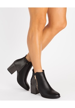 Glossy Boots, Git Svart Bubbleroom.dk