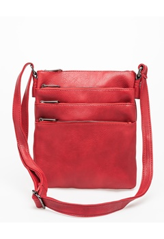 Have2have Crossbody Bag, Pendleton Röd Bubbleroom.dk