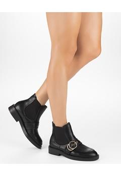 Truffle Boots, Olga Svart Bubbleroom.dk