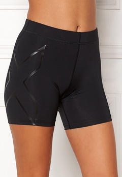 2XU Core Comp 5 Inch Shorts Black/Nero Bubbleroom.dk