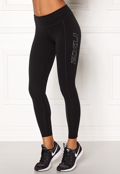 2XU Fitness Compression Tight Black/silver Bubbleroom.dk