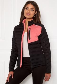2XU Pursuit Insulation Jacket BLK/PLT Black/Pink L Bubbleroom.dk