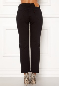 LEVI'S 501 Crop Jeans 0085 Black Heart Bubbleroom.dk