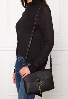 Pieces Puk cross body bag Black Bubbleroom.dk