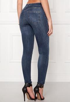 Pieces Five Delly Jeans Medium Blue Denim Bubbleroom.dk
