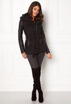 ONLY New Lisford Wool Coat Black Bubbleroom.dk