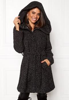 VILA Cama New Wool Coat Black Detail Bubbleroom.dk