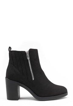 New Look Doodle Side Zip boots Black Bubbleroom.dk