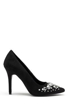 New Look Storm Embellished Heel Black Bubbleroom.dk