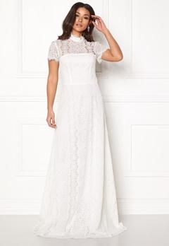 Ida Sjöstedt Siren Dress Ivory Bubbleroom.dk