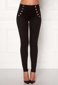 77thFLEA Adina highwaist jeans Black Bubbleroom.dk