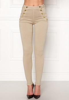 77thFLEA Adina highwaist jeans Putty Bubbleroom.dk