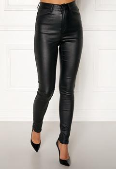 77thFLEA Bianca coated jeans Black Bubbleroom.dk