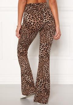 77thFLEA Cozensa printed trousers Leopard Bubbleroom.dk