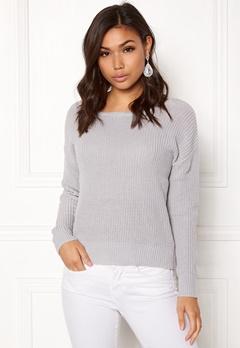 77thFLEA Damaris Sweater Light grey Bubbleroom.dk