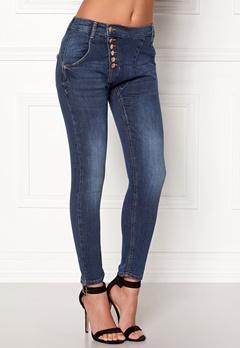 77thFLEA Deanne girlfriend jeans Medium blue Bubbleroom.dk
