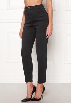 77thFLEA Felice high waist jeans Black Bubbleroom.dk