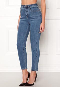 77thFLEA Felice high waist jeans Dark blue Bubbleroom.dk