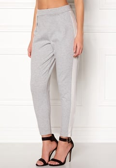 77thFLEA Helsinki Trousers Light grey / White Bubbleroom.dk