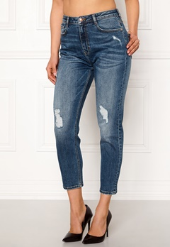 77thFLEA Indigo boyfriend jeans  Bubbleroom.dk