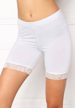 77thFLEA Juli short lace leggings White Bubbleroom.dk