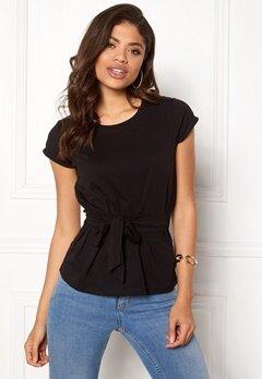 77thFLEA Layla t-shirt Black Bubbleroom.dk