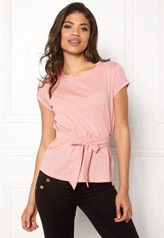 77thFLEA Layla t-shirt Dusty pink Bubbleroom.dk