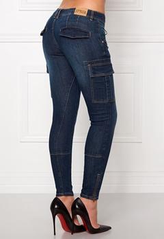77thFLEA Louise girlfriend jeans Medium blue Bubbleroom.dk