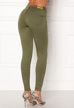 77thFLEA Miranda Push-up jeans Green Bubbleroom.dk
