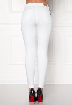 77thFLEA Miranda Push-up jeans White Bubbleroom.dk