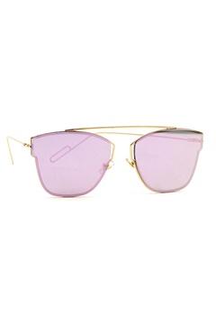 77thFLEA Pinky Sunglasses Gold Bubbleroom.dk