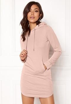 77thFLEA Rhianna Sweat Dress Dusty pink Bubbleroom.dk