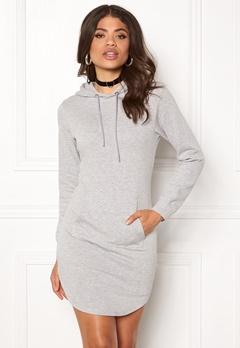 77thFLEA Rhianna Sweat Dress Grey melange Bubbleroom.dk